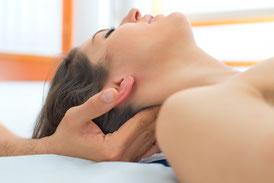 Nackenmassage Vital und Gesund TCM Hamburg