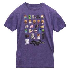 Minecraft Sprites Premium Tee マインクラフトスプライトTシャツ