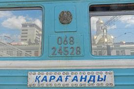 Nachtzug Moskau Karaganda