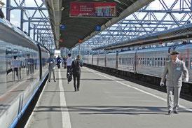 Sankt Petersburg Glawny Hauptbahnhof Moskauer Bahnhof