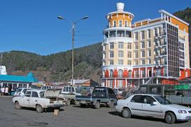 Hotelneubau am Baikalsee (Symbolbild)