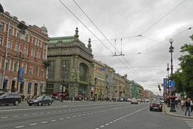 St. Petersburgs Newski-Prospekt