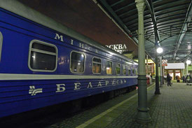 Belarus-Express Moskau-Minsk