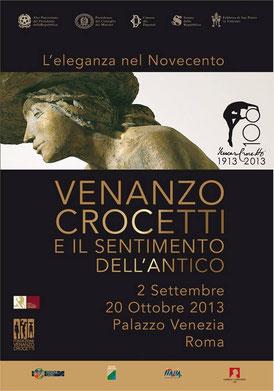 Locandina della mostra a Palazzo Venezia