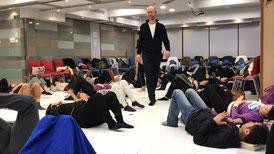 Alexander-Technik Workshop in Hongkong