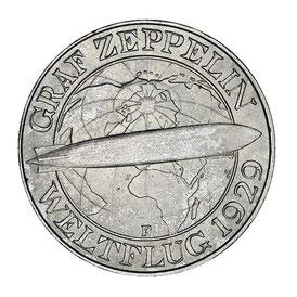 Reichsmark Zeppelin Silbermünze