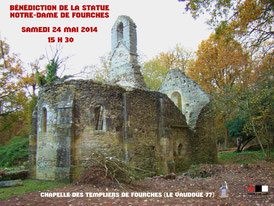 Chapelle des Templiers de Fourches. © Temple de Paris