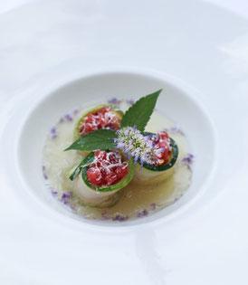 Zucchini-Tomate-Agastache