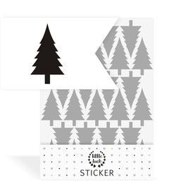 Wandsticker | Tannen minimalistisch