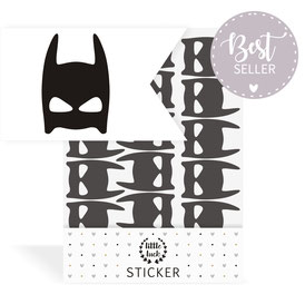 Sticker | Wandsticker - Superheldenmaske | Batman