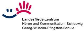 Logo des LFZ Hören und Kommunikation Schleswid
