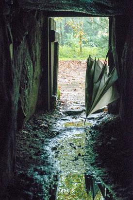Vor 6000 Jahren war der Regenschirm vermutlich noch eine Zukunftsvision.
