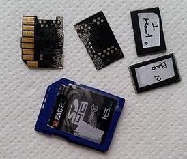 Récupérer données mémoire
