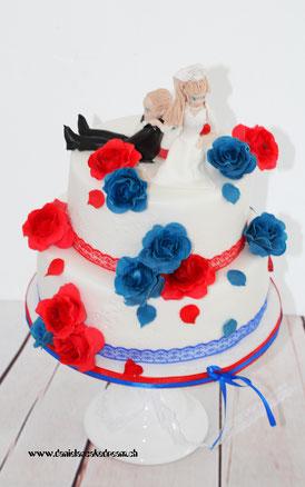 Hochzeitstorte Tamara Und Christoph Danielas Cake Dream