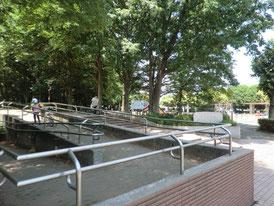 公園入口の写真