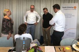 HR Meetup Düsseldorf interaktiv Engagement Augenhöhe Dialog