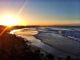 Sonnenuntergang in Byron Bay