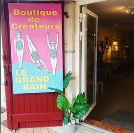 le grand bain, boutique de créateurs, 12, rue Loquin, 64500 Saint-jean-de-luz
