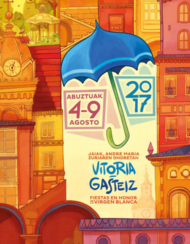 Fiestas en Vitoria Gasteiz La Blanca