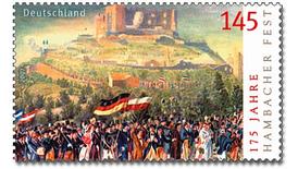 Sonderbriefmarke zum Hambacher Fest