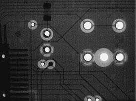 断線箇所1 X線写真