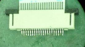 スイッチ基板A コネクタ破損部分表