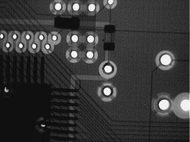 断線箇所2 X線写真