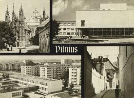 Vilnius. Gotikos kampelis. Statybininkų rūmai. Nuotr. Z.Kazėno / A gothic corner. Palace of Builders. Photo by Z.Kazėnas