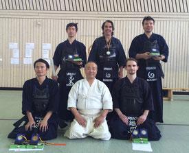 Team Urbach 2016 (Masayoshi, Kozaki-Sensei, Oli, Genta, Christoph, Kaan)