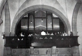 Die Orgel nach dem Umbau