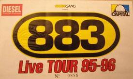 Biglietto concerti Tour 1995/96