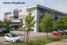 Firmensitz der CILEXTRA AG Spanndeckenmanufaktur in Solothurn, Schweiz.