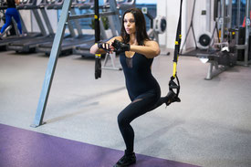 TRX Suspension Training im Old School Fitness Studio Wattwil