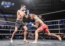 Adam van der Brink (Sportvision) vs. Jordy Bakkes (CSA Helmond) MMA