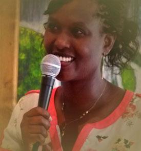 Portrait du Pasteur Alice Nshimirimana de l'église Centre Chrétien Porte Ouverte de Vannes évangélique
