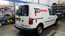 bestelwagen belettering autoreclame Rick Smeenk
