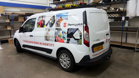 belettering autoreclame Thermopatch