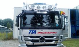 autobelettering cabine TTA