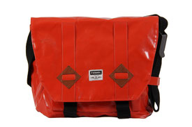 7clouds Messengerbag large 14`` red