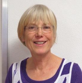 Bernadette Kraus, geb. 5.4.1958, Rehabilitationslehrerin für Blinde und Sehbehinderte, Bereich Orientierung und Mobilität