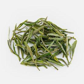 Foto, Grüner Tee aus China, Anhui, Qingming, Huangshan, Maofeng