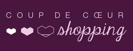 Shopping Coup de coeur