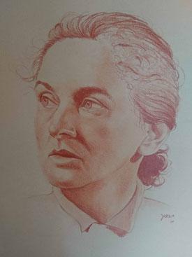 Malerin Irma Ebert, geboren in Nürnberg, gestorben in Sulzbach-Rosenberg