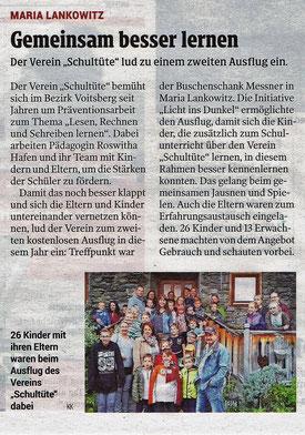 Kleine Zeitung, 01.11.2018