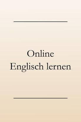 Englisch lernen online: Online Kurse. #englischlernen