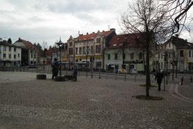 Marktplatz Dudweiler, Alter Stadtweg