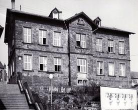 dudweiler, saarland, schule, kirchenschule, 1868