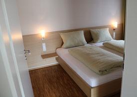 Schlafzimmer Ferienwohnung Nr. 5