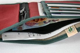vegan wallet handmade geldbeutel
