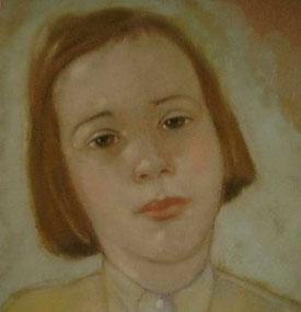 CW Vogel  - Portrait Antje 1948